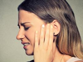 Ear pain in an adult from an ear infection