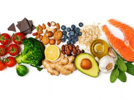 variety of healthy foods to eat in a day
