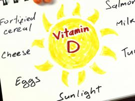 Sources of vitamin D fish, eggs, sunlight, milk.
