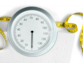 scale and measuring tape weight loss